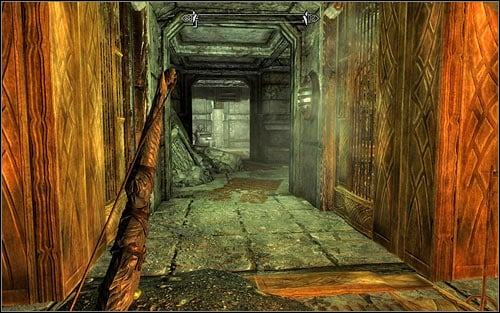 A longer way to your target implies choosing a corridor leading to the south-east (screen above) - Mourning Never Comes - p. 1 - The Dark Brotherhood quests - The Elder Scrolls V: Skyrim Game Guide