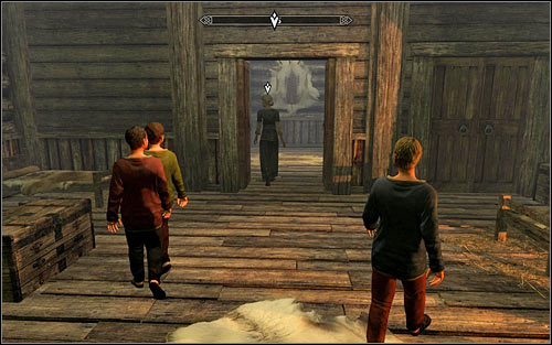 If it is your first visit in the orphanage, youll have to wait until Grelod the Kind delivers a short speech to children gathered in the main chamber - Innocence Lost - The Dark Brotherhood quests - The Elder Scrolls V: Skyrim Game Guide