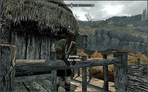 Head west, reaching Loreiuss farm after few moments - Delayed Burial - The Dark Brotherhood quests - The Elder Scrolls V: Skyrim Game Guide