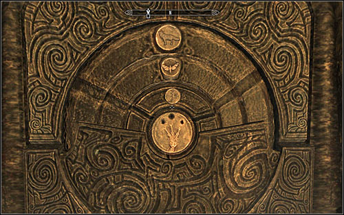 Approach the locked northern gate - Reaching the portal | The World-Eaters Eyrie - The World-Eaters Eyrie - The Elder Scrolls V: Skyrim Game Guide