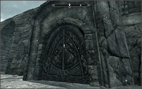 If you want, you can now return to the Skuldafn North Tower, using the fact that you reached the upper balconies - Reaching the portal | The World-Eaters Eyrie - The World-Eaters Eyrie - The Elder Scrolls V: Skyrim Game Guide