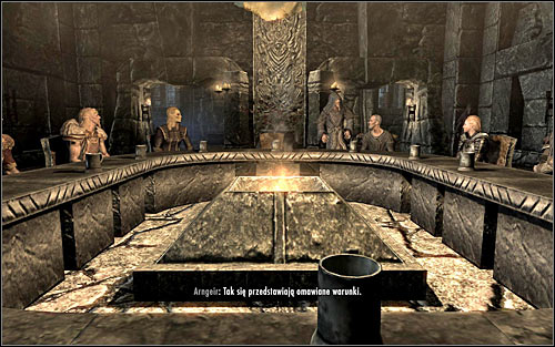 The negotiations will come to an end, regardless of whether you agreed to the demands of the harmed faction or ignored them and therefore worsen your relation even further - Participating in the negotiations | Season Unending - Season Unending - The Elder Scrolls V: Skyrim Game Guide