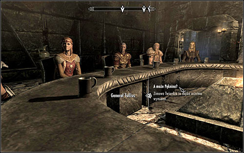 Only afterwards will you move to the proper part of the negotiations and the initiative will be taken by one of the leaders of the hostile factions - Participating in the negotiations | Season Unending - Season Unending - The Elder Scrolls V: Skyrim Game Guide