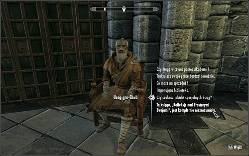 Once again speak with Urag gro-Shub and ask him about the Ruminations on the Elder Scrolls, written by Septimus Signus (screen above), who has apparently lost his mind and therefore the contents is absolutely inexplicable - Finding Septimus Signus - Elder Knowledge - The Elder Scrolls V: Skyrim - Game Guide and Walkthrough
