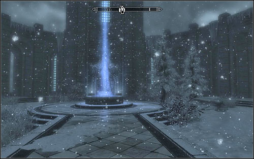 Head towards the College of Winterhold entrance - Heading to Winterhold | Elder Knowledge - Elder Knowledge - The Elder Scrolls V: Skyrim Game Guide