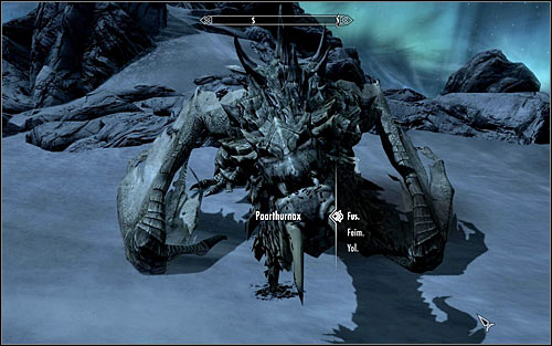 In the end you should ask Paarthurnax about training the mortals and meditation, thanks to which the Greybeards Master will offer you boosting one of your Shouts (screen above) - Meeting Paarthurnax - The Throat of the World - The Elder Scrolls V: Skyrim - Game Guide and Walkthrough