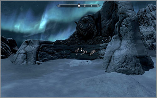 Wait for Paarthurnax to breathe fire and approach the Word Wall on the right (screen above) to learn the Word of Power - Inferno, Fire Breath - Meeting Paarthurnax | The Throat of the World - The Throat of the World - The Elder Scrolls V: Skyrim Game Guide