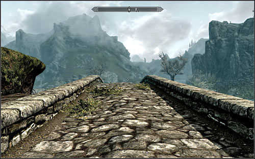 IF you dont want to use the carriage or fast travel, the best solution would be leaving Riverwood and heading west - Heading to Alduins Wall | Alduins Wall - Alduins Wall - The Elder Scrolls V: Skyrim Game Guide