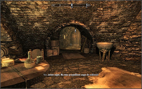 Head to the south-east part of Ragged Flagon, finding the path to The Ratway Vaults (screen above) - Finding Esbern | A Cornered Rat - A Cornered Rat - The Elder Scrolls V: Skyrim Game Guide