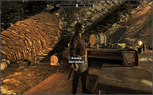 You will now have to establish Esberns exact whereabouts and you will have a few options - Finding Esbern | A Cornered Rat - A Cornered Rat - The Elder Scrolls V: Skyrim Game Guide
