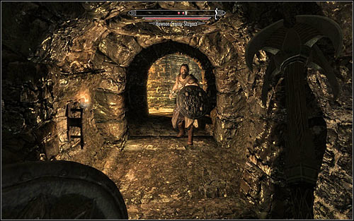 Begin exploring The Ratway - Finding Esbern - A Cornered Rat - The Elder Scrolls V: Skyrim - Game Guide and Walkthrough