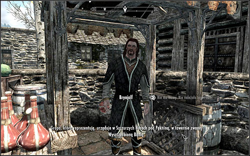 Brynjolf will share with you information on Esbern's hideout during your first conversation, assuming you successfully persuaded him, worked with the Thieves Guild or completed A Chance Arrangement - Finding Esbern - A Cornered Rat - The Elder Scrolls V: Skyrim - Game Guide and Walkthrough