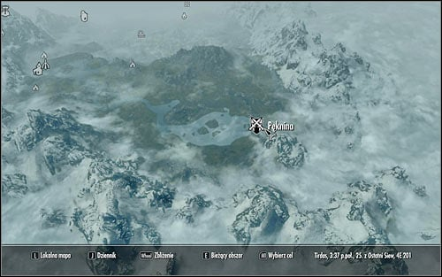 Open the world map and you will note that Riften is in the south-east part of Skyrim (screen above) - Establishing Esberns whereabouts | A Cornered Rat - A Cornered Rat - The Elder Scrolls V: Skyrim Game Guide