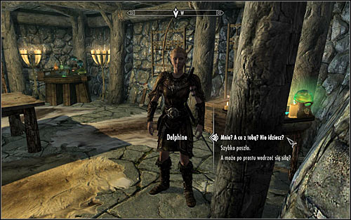 Open the world map and go to Riverwood and head inside the Sleeping Giant Inn - Meeting with Delphine | Diplomatic Immunity - Diplomatic Immunity - The Elder Scrolls V: Skyrim Game Guide