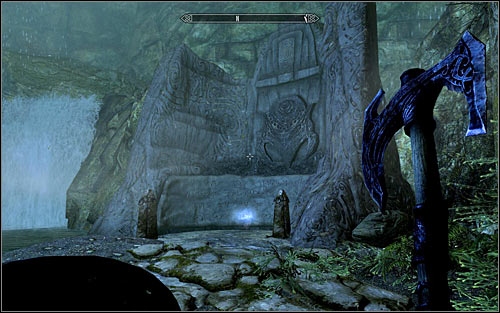 If you want to explore the eastern balcony on which the Skeletons were, you will have to look out for the pressure plates beside the stairs, going between them - Heading to the temple of Ustengrav - The Horn of Jurgen Windcaller - The Elder Scrolls V: Skyrim - Game Guide and Walkthrough