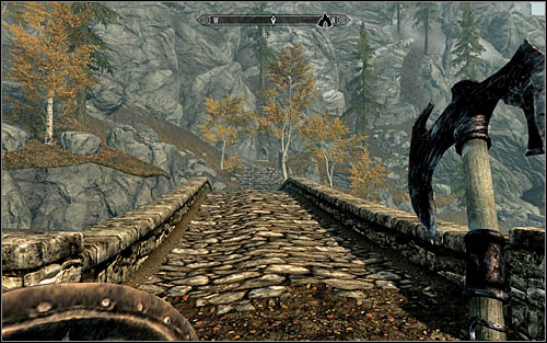Cross the village, heading west - Heading to the Greybeards - The Way of the Voice - The Elder Scrolls V: Skyrim - Game Guide and Walkthrough