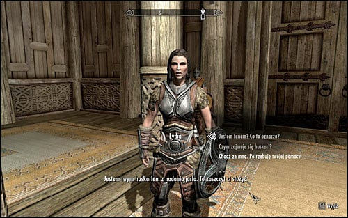 Head to the Dragonsreach exit and you will come across Lydia, who the Jarl has mentioned (screen above) - Heading to the Greybeards - The Way of the Voice - The Elder Scrolls V: Skyrim - Game Guide and Walkthrough