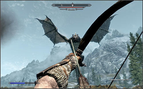 The tactic of fighting the Dragon should of course depend on the specialization of you character - Fighting the Dragon | Dragon Rising - Dragon Rising - The Elder Scrolls V: Skyrim Game Guide