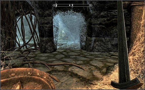 After eliminating all the Skeevers, go to the very bottom - Heading to Bleak Falls Barrow - Bleak Falls Barrow - The Elder Scrolls V: Skyrim - Game Guide and Walkthrough