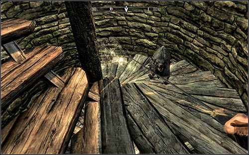 After reaching the new room, take a look around for a chest and the Thief book, increasing your Pickpocket skill level - Heading to Bleak Falls Barrow - Bleak Falls Barrow - The Elder Scrolls V: Skyrim - Game Guide and Walkthrough