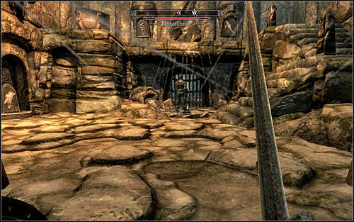 Eventually you should reach a room inside of which you will note a Bandit Outlaw - Heading to Bleak Falls Barrow - Bleak Falls Barrow - The Elder Scrolls V: Skyrim - Game Guide and Walkthrough