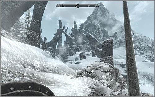 I'd suggest staying very cautious, as after reaching a small tower you might get attacked by a group of Bandits - Heading to Bleak Falls Barrow - Bleak Falls Barrow - The Elder Scrolls V: Skyrim - Game Guide and Walkthrough