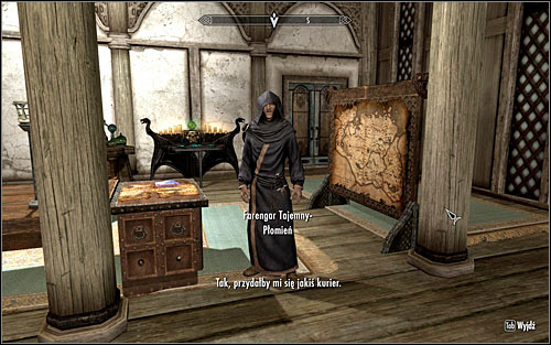 Follow Jarl Balgruuf into one of the smaller rooms of the Dragonsreach - Meeting with Farengar | Bleak Falls Barrow - Bleak Falls Barrow - The Elder Scrolls V: Skyrim Game Guide