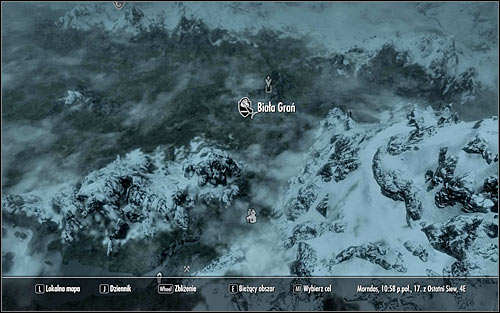 Open the world map and you should note that Whiterun is north of Riverwood (screen above) - Going to Whiterun | Before the Storm - Before the Storm - The Elder Scrolls V: Skyrim Game Guide
