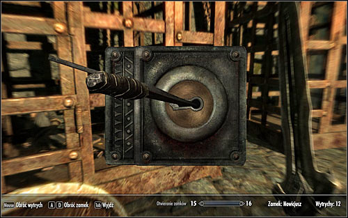Id suggest devoting some time to complete the optional objective connected with opening the cage, even if you dont want to play as a rogue in the further part of the game - Getting through the Keep with Ralof | Unbound - Unbound - The Elder Scrolls V: Skyrim Game Guide
