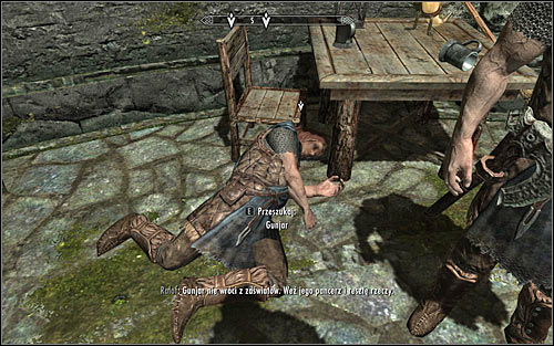 Approach Ralof, so that he can free your hands - Getting through the Keep with Ralof | Unbound - Unbound - The Elder Scrolls V: Skyrim Game Guide