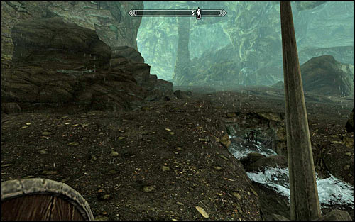 Now head east, eventually reaching a big cave - Getting through the Keep with Hadvar | Unbound - Unbound - The Elder Scrolls V: Skyrim Game Guide