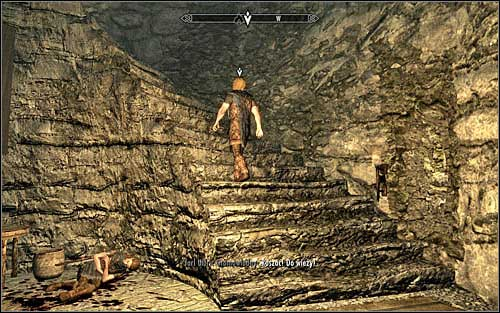 Follow Ralof, towards the entrance of the nearby tower - Running away from the Dragon | Unbound - Unbound - The Elder Scrolls V: Skyrim Game Guide