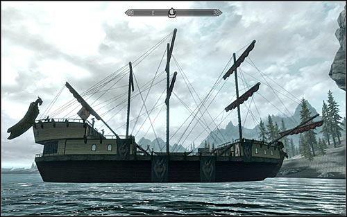 Location type: ship - [1] North-west of Skyrim - p.1 | World maps - World maps - The Elder Scrolls V: Skyrim Game Guide