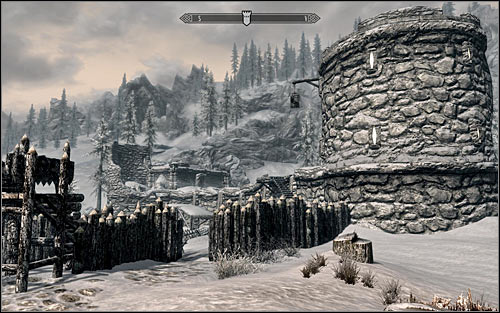 Location type: fort - [2] North of Skyrim - p.2 | World maps - World maps - The Elder Scrolls V: Skyrim Game Guide
