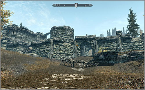 Location type: fort - [9] South-east of Skyrim - p.1 | World maps - World maps - The Elder Scrolls V: Skyrim Game Guide