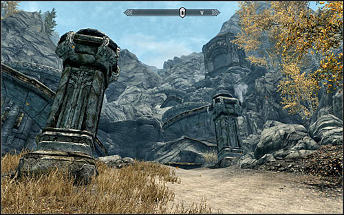 Location type: ruins - [9] South-east of Skyrim - p.2 | World maps - World maps - The Elder Scrolls V: Skyrim Game Guide
