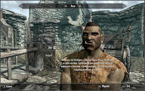 Choosing race and gender - p 2   Character development - The Elder