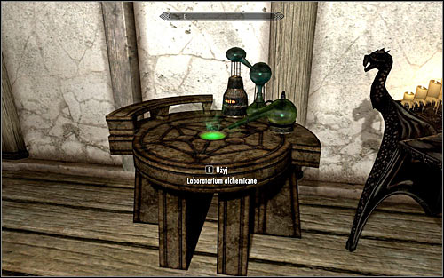 How to increase skill: This skill can be increased by interacting with alchemy labs (screen above) to create potions and poisons - Alchemy | Skills - Skills - The Elder Scrolls V: Skyrim Game Guide