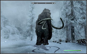 MAMMOTHS - Bestiary | Listings - Listings - The Elder Scrolls V: Skyrim Game Guide