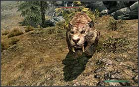 SABRETOOTH CATS - Bestiary - Listings - The Elder Scrolls V: Skyrim - Game Guide and Walkthrough