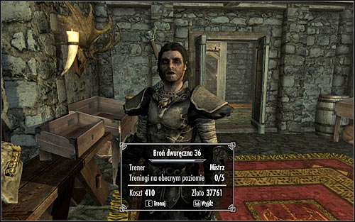 Visiting skill trainers is a very interesting way of developing main characters skills - Skill trainers | Listings - Listings - The Elder Scrolls V: Skyrim Game Guide