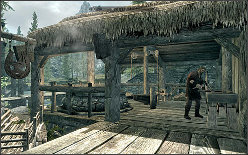 blacksmith forge skyrim - photo #45