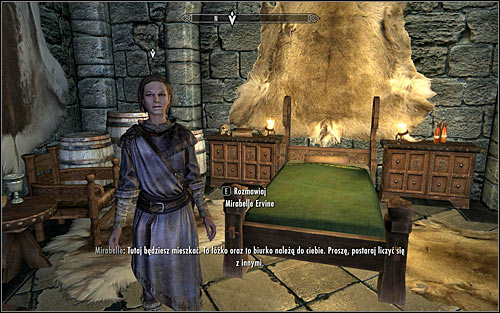 Head after Mirabelle - First Lessons - College of Winterhold quests - The Elder Scrolls V: Skyrim Game Guide