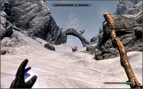 If you already discovered the ruins, you can of course use fast travel - Under Saarthal - p. 1 - College of Winterhold quests - The Elder Scrolls V: Skyrim Game Guide