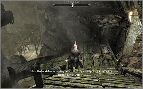 Use the small entrance to the Saarthal Excavation - Under Saarthal - p. 1 - College of Winterhold quests - The Elder Scrolls V: Skyrim Game Guide