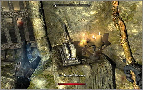 After the battle, Tolfdir should head through the western passage - Under Saarthal - p. 1 - College of Winterhold quests - The Elder Scrolls V: Skyrim - Game Guide and Walkthrough