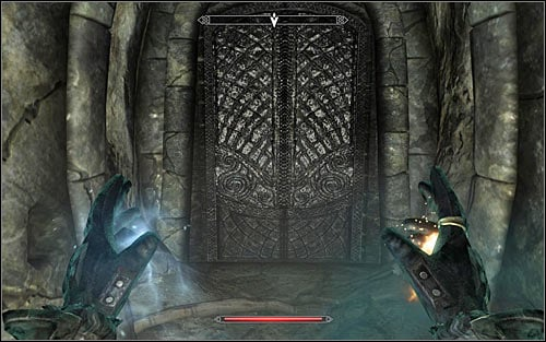 Soon enough you should be joined by Tolfdir, so consider waiting for him - Under Saarthal - p. 2 - College of Winterhold quests - The Elder Scrolls V: Skyrim Game Guide