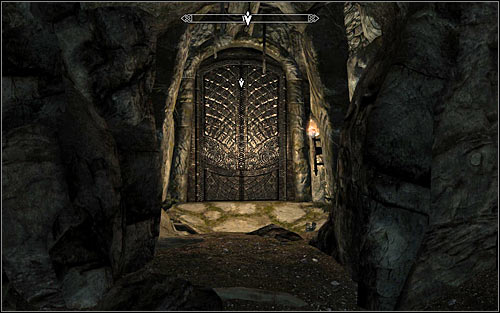 Go through the western door (screen above), thus returning to Saarthal Excavation - Under Saarthal - p. 2 - College of Winterhold quests - The Elder Scrolls V: Skyrim Game Guide