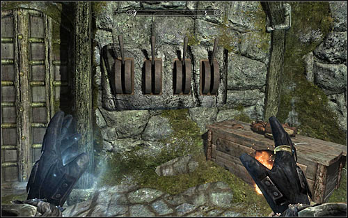 As you have probably noticed, Vampires are imprisoned in the dungeon and you can use it to your advantage - Hitting the Books - p. 1 - College of Winterhold quests - The Elder Scrolls V: Skyrim Game Guide