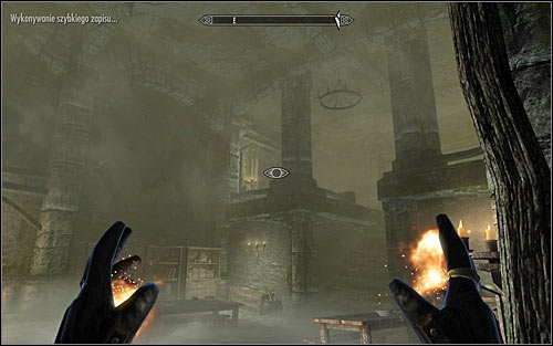 Continue exploring the Keep, heading east - Hitting the Books - p. 2 - College of Winterhold quests - The Elder Scrolls V: Skyrim Game Guide